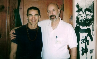 Photo of Glenn Morris with Tao Semko